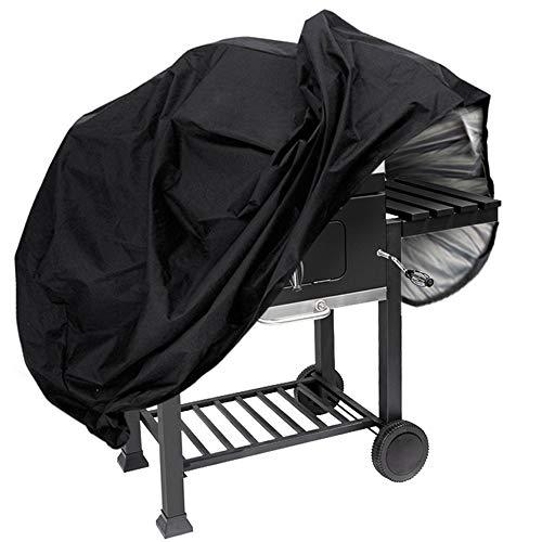JOLVVN Cover per Barbecue Impermeabile Copertura Telo Barbecue Copri Anti-UV Custodie Protettivo BBQ Grill Oxford Resistente Rivestimento PVC Anti Neve/Pioggia/Polvere/Sole 145 * 61 * 117cm