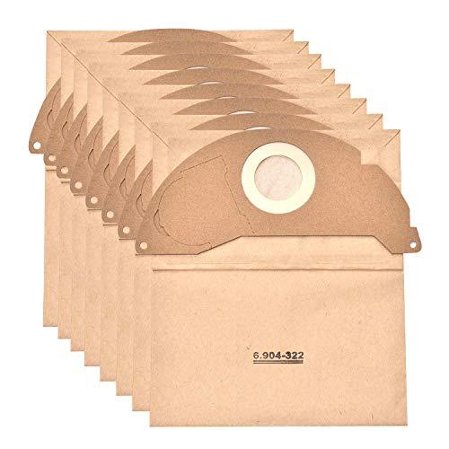 JZROME 8 pezzi 6.904-322.0 Sacchetto per aspirapolvere per Kärcher