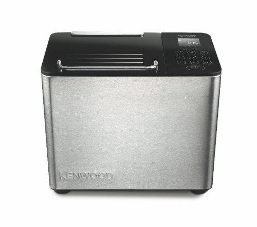 Kenwood BM450 Macchina per Il Pane, 780 W, 0 Decibel, Metallo, Vetro, Acciaio, Nero