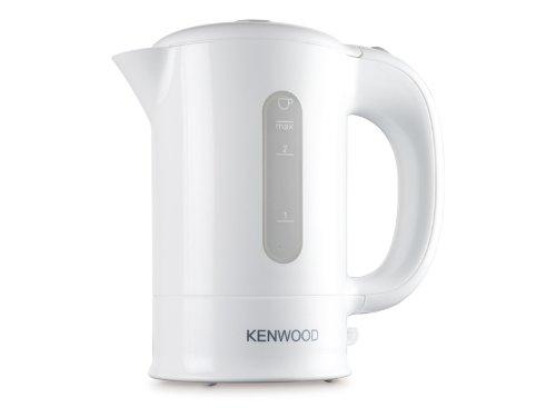 Kenwood JKP250 Bollitore Elettrico da Viaggio, 0.5 L, 650 W, 2 Cups, plastica, Bianco