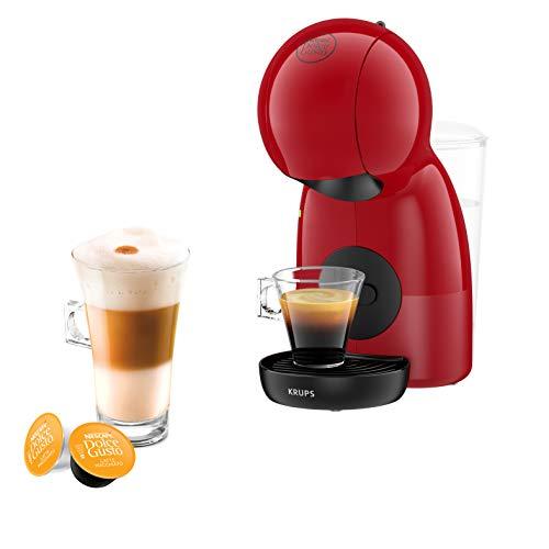 Krups Macchina per il caffè Nescafé Dolce Gusto Piccolo XS con capsule, per caffè caldi e freddi, con pompa da 15 bar di pressione e dosaggio manuale dell'acqua
