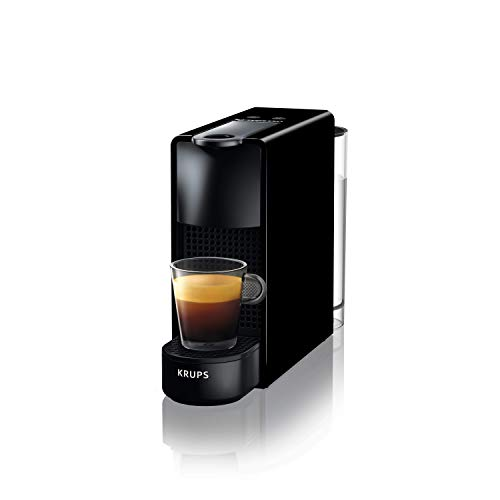 Krups XN1108 Nespresso Essenza Mini Macchina per il Caffè,1260 watts, 0.6 L, Nero