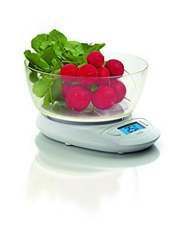 Laica KS1019 Da tavolo Bilancia da cucina elettronica Bianco bilancia da cucina
