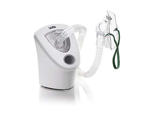 Laica MD6026 Aerosol a Ultrasuoni Portatile per Adulti e Bambini silenzioso, Bianco