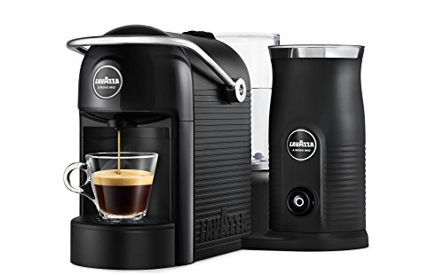 Lavazza A Modo Mio Jolie&Milk Black Macchina per caffè, ABS (Plastica), Nero
