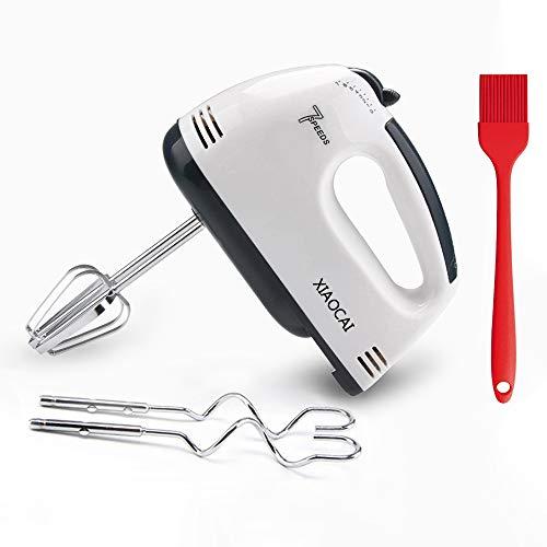 Leaflai - Sbattitore elettrico a 7 velocità, 180 W, per alimenti da cucina