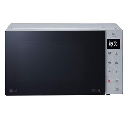 LG MH7235GPSS Forno Microonde Smart Inverter con Grill al Quarzo, 32 Litri, 1350 W, Programmi Automatici, Livelli di Potenza Regolabili, Piatto Microonde Crispy Incluso - Argento