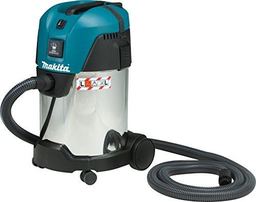 Makita VC3011L Aspiratore elettrico Wet & Dry, 1200 Watt, 72dB, Flusso d'aria 3600 l/min