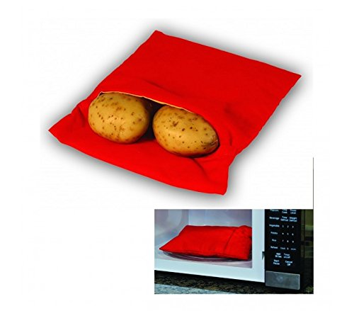 MEDIA WAVE store Sacco cuoci patate per microonde pronte in 4 minuti cucina express dieta