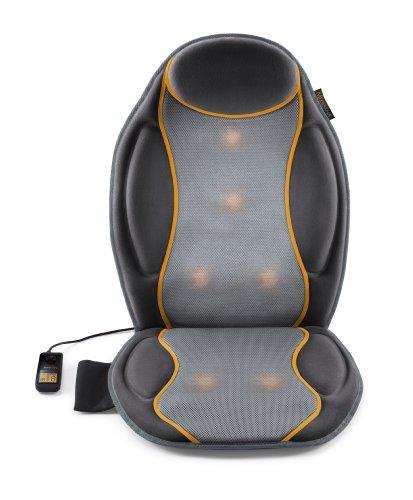 Medisana MC 810 Riscaldamento dei Sedili Coprisedile Auto, Coprisedile Massaggiante con Massaggio a Vibrazione, 9 Programmi di Massaggio, Coprisedile Massaggiante con 3 Intensità