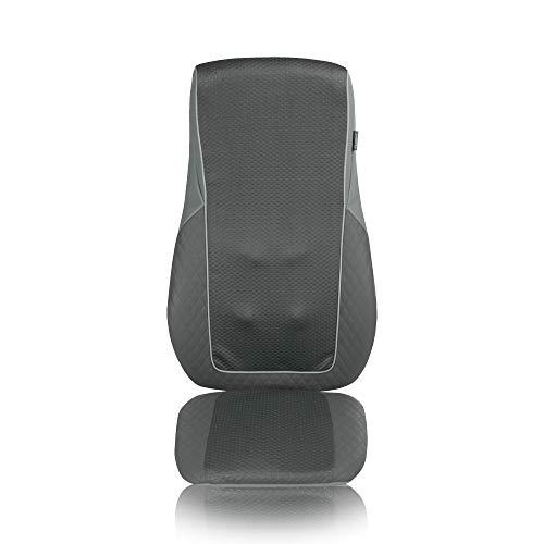 Medisana MC 824 Massaggio Shiatsu, Seduta Massaggiante con Massaggio a Vibrazione, Funzione Calore, Massaggio Spot con 2 Intensità, Adatto ad Ogni Sedia, Massaggio per Tutta la Schiena