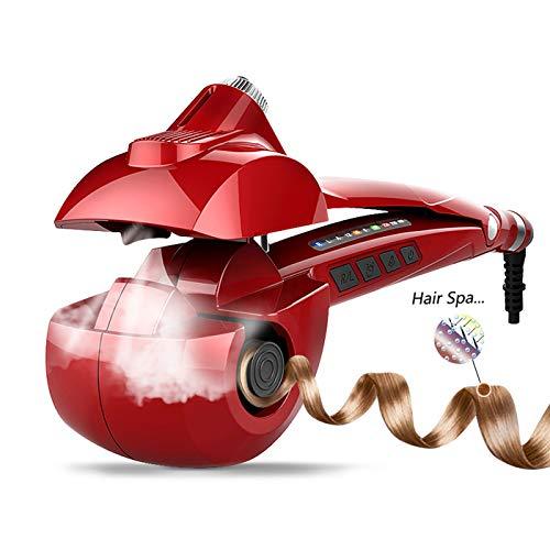MENQANG Arricciacapelli Automatico, Ferro Arricciacapelli Automatico in ceramica con tre temperature e due direzioni di arricciatura per creare una varietà di effetti di arricciatura