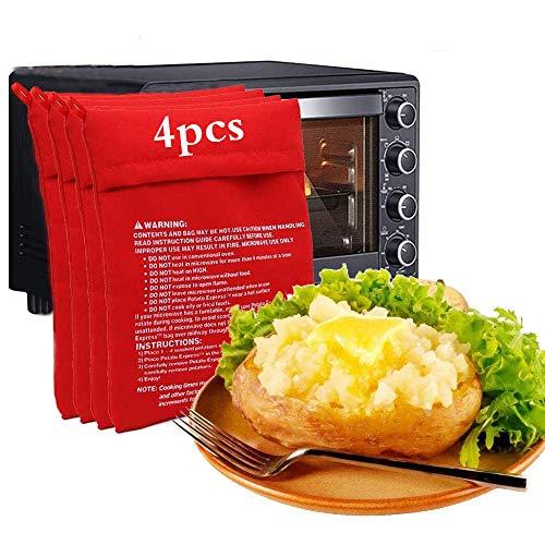 Microonde Patata Fornello Borsa,Sacchetto per Patate al Microonde,Borsa per Patate in Microonde,Patate Microonde Fritte,Patate Microonde,Sacchetto per Patate