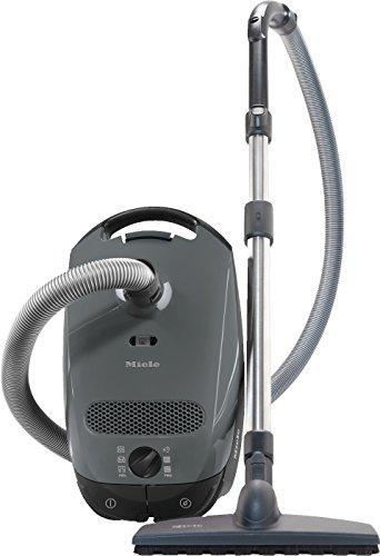 Miele Classic C1 Parquet Ecoline Aspirapolvere, 550 watts, 4.5 litri, 78 decibels, Grigio Grafite