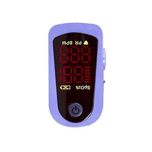 Mobiclinic, Pulsossimetro da dito, MD300C13, Marchio Europeo, lettura digitale, frequenza cardiaca e saturazione di ossigeno (SpO2), Dito monitor ossigeno, Schermo LED, Lettura Immediata