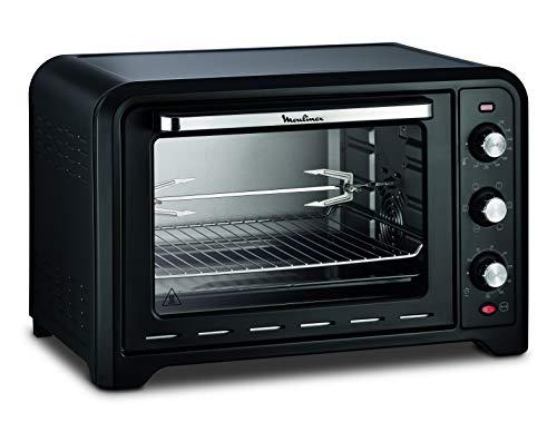 Moulinex OX4858 Optimo 39L, Forno Elettrico Ventilato con Capacità di 39 L, 7 modalità di cottura, Termostato fino a 240°C, Potenza 2000 W