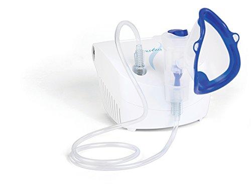 Nuvita 5020A | Aerosol Silenzioso per Bambini ed Adulti | Macchina Inalatore Nasale per Neonato | Nebulizzatore Compressore | Prodotto in Italia | Ricambi Disponibili