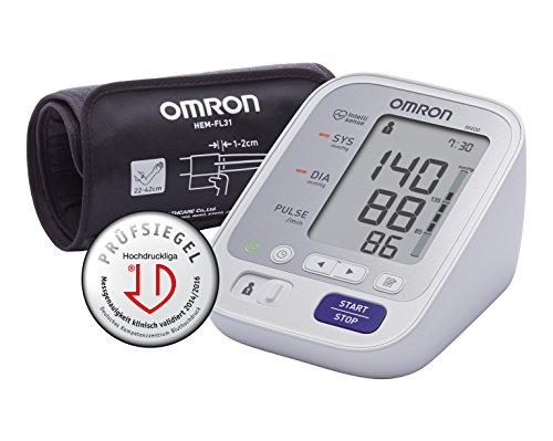 OMRON M400 Sfigmomanometro da Braccio con Porta USB e Fascia Intelli Wrap [Importato dalla Germania]