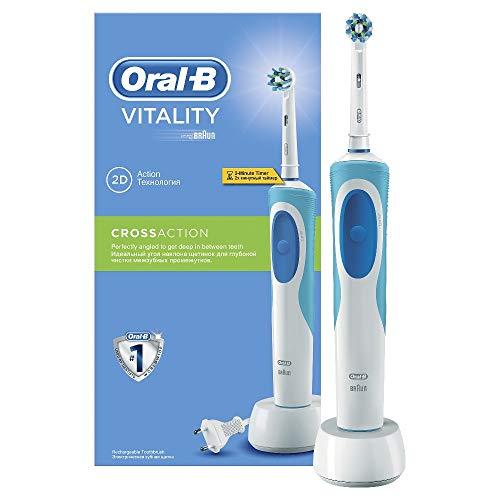 Oral-B Vitality CrossAction Spazzolino Elettrico Ricaricabile