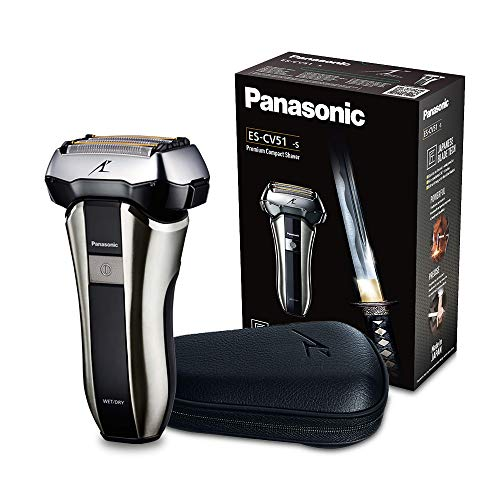 Panasonic ES-CV51-S803 Rasoio Nero, Metallico rasoio elettrico