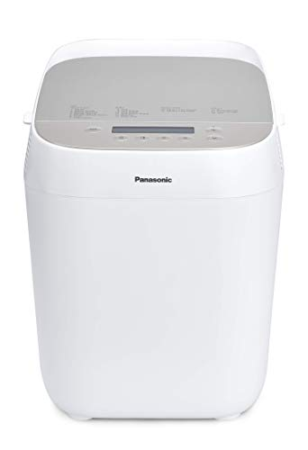 """Panasonic SD-ZP2000WXE Macchina per il Pane Automatica """"Croustina"""", Pane Croccante, 18 programmi, Rivestimento Cestello in Ceramica, Bianco"""