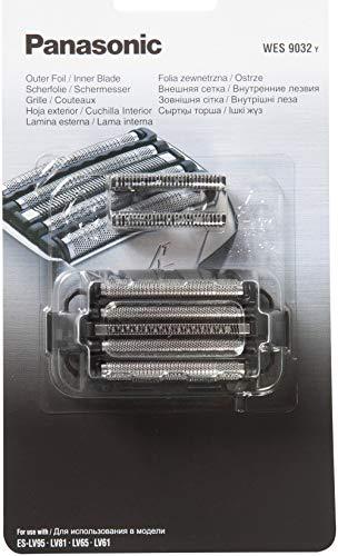 Panasonic WES9032Y1361, Testina di Ricambio per Rasoi Elettrici Uomo ESLV65/ESLV95/ESLV81/ESLV61, Set Lamina Esterna + Lama Interna Originale