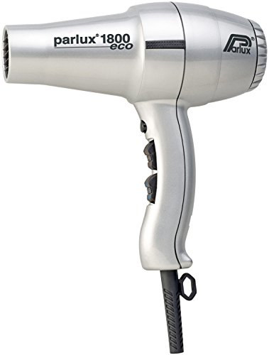 Parlux Asciugacapelli Professionale, Phon 1800 ECO, Argento - 798 ml