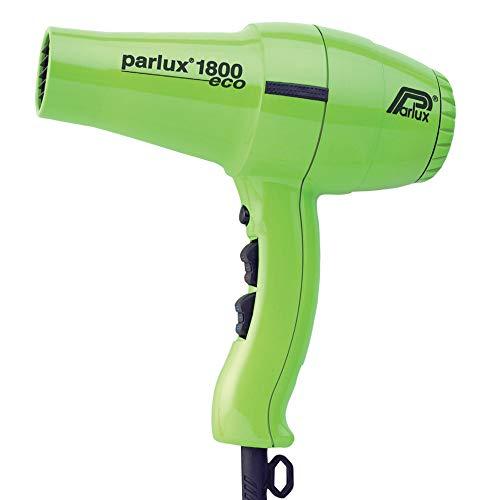 Parlux Asciugacapelli Professionale, Phon 1800 ECO, Verde - 798 ml