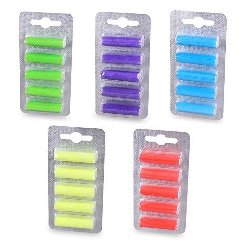 PATONA 5x 5 bastoncini profumati Deo Sticks fragranze per ogni tipo di bastoncino profumato con sacchetti con diversi profumi