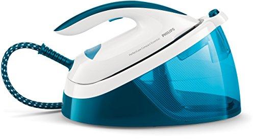 Philips GC6830/20 Ferro generatore di Vapore PerfectCare Compact Essential, Tecnologia OptimalTEMP, Fino a 5.5 Bar di Pressione della Pompa, Colpo, 270 g, Serbatoio 1.3 Litri