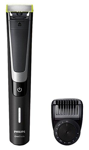 Philips QP 6510/20 Rasoio e regolabarba [Importato da Unione Europea], ricaricabile, nero