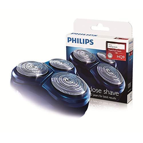 Philips - Testine di rasatura di ricambio per rasoio elettrico, HQ9 HQ8140 8160 8170 9160 9170 9190 PT920