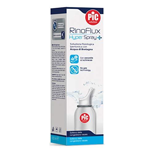 Pic RinoFlux Hyper Spray+ Soluzione Fisiologica Ipertonica, 100ml