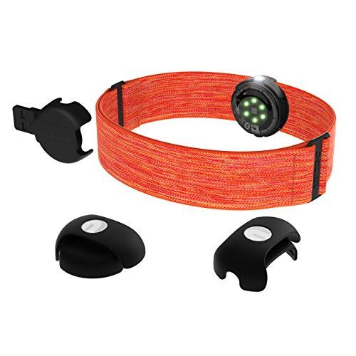 Polar OH1, Sensore Frequenza Cardiaca da Braccio, Connettività Bluetooth e Ant+ Unisex-Adulto, Arancione, Taglia Unica