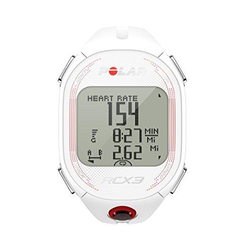 Polar RCX3 Cardiofrequenzimetro, Bianco