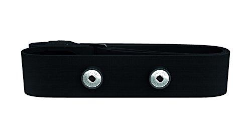Polar Soft Strap M-XXL, Fascia Toracica Compatibile con Tutti I Sensori HR Tranne T31 E T61 Unisex Adulto, Nero