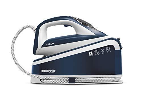 Polti Vaporella Express VE30.10, generatore di vapore ad alta prestazione fino 8bar pompa, tecnologia ONE TEMPERATURE per tutti i tessuti e digital setting, colpo vapore 240g/min, riscaldamento 1 min