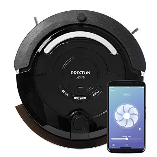 PRIXTON - Aspirapolvere Robot/Lavapavimenti Robot, Senza Fili con WiFi e App Mobile, con percorsi Intelligenti, Funzione 4 in 1: Sweep, Scrub, Vacuum, Mop   Spire 916