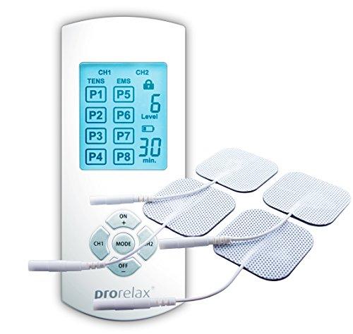Prorelax 51944 Tens+Ems Duo Comfort - Terapia Naturale per il Dolore Cronico e per Rafforzare i Muscoli