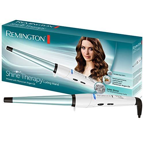 Remington CI53W Ferro Arricciacapelli Conico, Shine Therapy