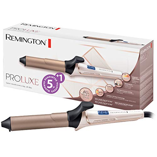 Remington CI9132 Arricciacapelli Proluxe, Voltaggio Universale , In ceramica, Nero/Bronzo/Bianco