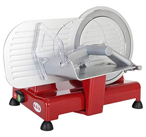 RGV Luxor 22 Affettatrice, 120 W, Alluminio, Rosso