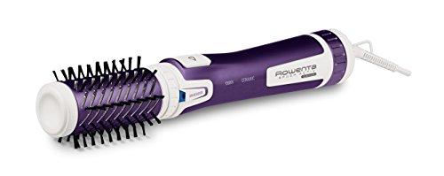 Rowenta CF9530 Brush Activ Spazzola Rotante e Asciugante per Volume, Lucentezza e Morbidezza, 1000 W, Viola/Bianco