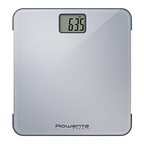Rowenta Compact Bathroom Scale with LCD Display Bilancia, plastica, Grigio