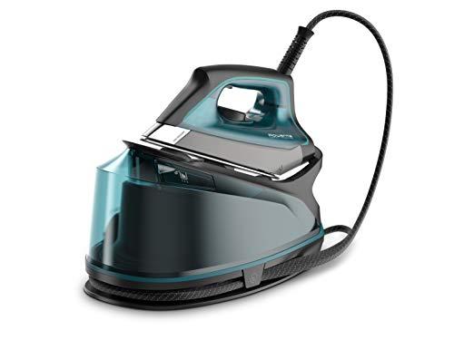 Rowenta - Ferro da stiro Compact Steam Pro 6,3 bar di pressione, colpo di vapore 325 g/min, suola antigraffio scorrevole, sistema eco