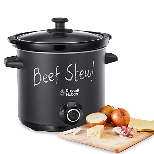 Russell Hobbs 24180-56 Slow Cooker, 200 W, Nero