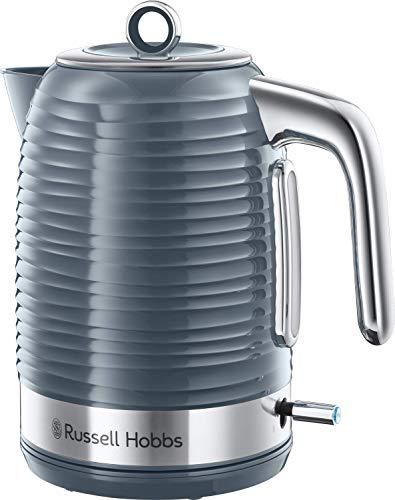 Russell Hobbs Inspire 24363-70 Bollitore, Filtro Anticalcare, 2400 W, 1.7 Litri, Plastica, Grigio