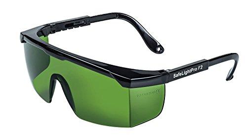 SafeLightPro F2 Protezione speciale per gli occhi dagli impulsi di luce (luce pulsata) emanati dagli epilatori HPL e IPL, Protezione UV