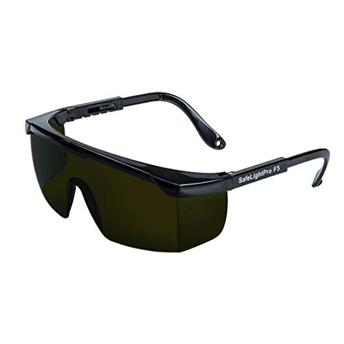 SafeLightPro F5 Protezione speciale per gli occhi dagli impulsi di luce (luce pulsata) emanati dagli epilatori HPL e IPL, Protezione UV