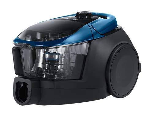 Samsung VC07M3150VU Aspirapolvere a Traino senza Sacco Cyclone Force Animal, 190 W, 3 Spazzole, Rumorosità 80 dB, Earth Blu